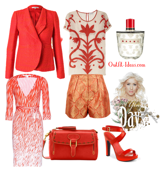 Orange Outfits – spring summer 2013