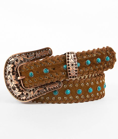Angel Ranch Leather Belt $58