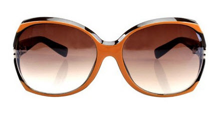 Chic Oversized Celebrity Sunglasses with Cut out Detail €19.5