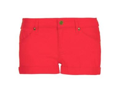 Dyed denim shorts $29.99