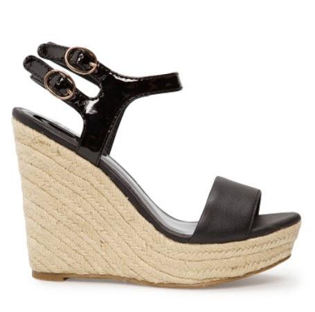 Espadrille wedge sandals $79.99