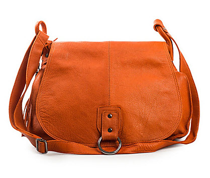 Shoulder bag in soft leather from NYPD