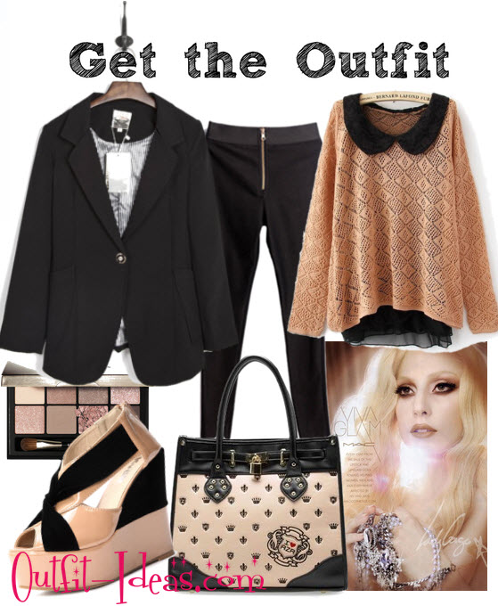 Pink Vintage Outfit – I love Lady Gaga