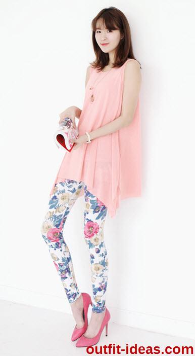 Sleeveless Handkerchief-Hem Tunic by  Stylementor
